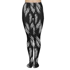 Feather Pattern Women s Tights by Valentinaart