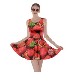 Strawberries Berries Fruit Skater Dress