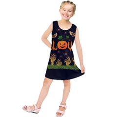 Halloween Kids  Tunic Dress by Valentinaart