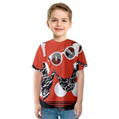 Twenty One Pilots Poster Contest Entry Kids  Sport Mesh Tee by Onesevenart