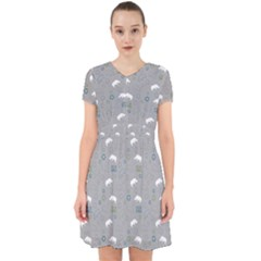 Shave Our Rhinos Animals Monster Adorable In Chiffon Dress by Mariart