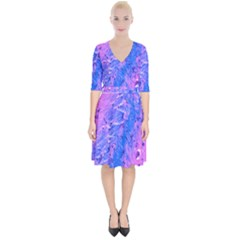 The Luxol Fast Blue Myelin Stain Wrap Up Cocktail Dress by Mariart