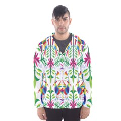 Peacock Rainbow Animals Bird Beauty Sexy Hooded Wind Breaker (men) by Mariart