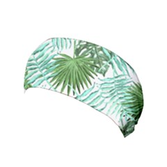 Tropical Pattern Yoga Headband by ValentinaDesign