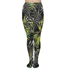 Tropical Pattern Women s Tights by ValentinaDesign