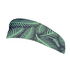 Coconut Leaves Summer Green Stretchable Headband by Mariart