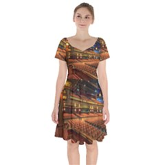 Florida State University Short Sleeve Bardot Dress by BangZart