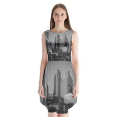 Minneapolis Minnesota Skyline Sleeveless Chiffon Dress   by BangZart