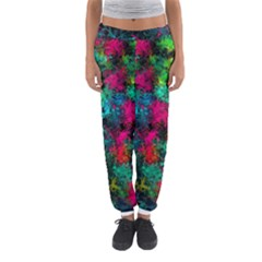 Squiggly Abstract B Women s Jogger Sweatpants by MoreColorsinLife