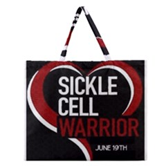 Warrior  Zipper Large Tote Bag by shawnstestimony