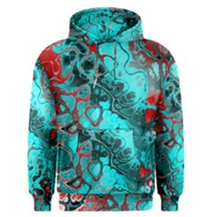 Awesome Fractal 35g Men s Pullover Hoodie by MoreColorsinLife
