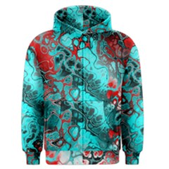 Awesome Fractal 35g Men s Zipper Hoodie by MoreColorsinLife