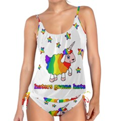 Unicorn Sheep Tankini Set by Valentinaart