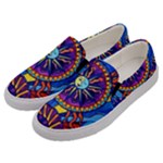 Sun and Moon - Men s Canvas Slip Ons