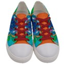 Openness - Women s Low Top Canvas Sneakers View1
