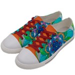 Openness - Women s Low Top Canvas Sneakers
