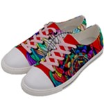Return to Source - Women s Low Top Canvas Sneakers