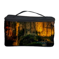 Mont St Michel Sunset Island Church Cosmetic Storage Case