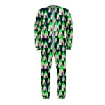 Edgy Cartoon Small Houses Pink Green Purple Multi OnePiece Jumpsuit (Kids)