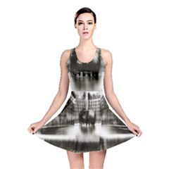 Black And White Hdr Spreebogen Reversible Skater Dress