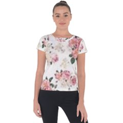 Downloadv Short Sleeve Sports Top  by MaryIllustrations