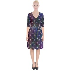 Rainbow Moon Wrap Up Cocktail Dress by greenthanet