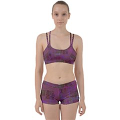 Abstract Art Women s Sports Set by ValentinaDesign