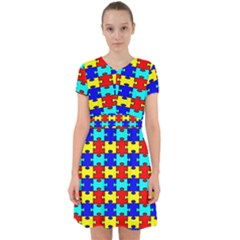 Game Puzzle Adorable In Chiffon Dress by Mariart