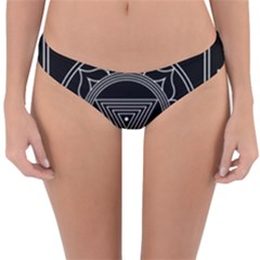 Kali Yantra Inverted Reversible Hipster Bikini Bottoms by Mariart