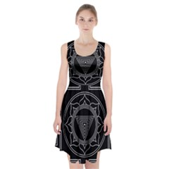 Kali Yantra Inverted Racerback Midi Dress by Mariart