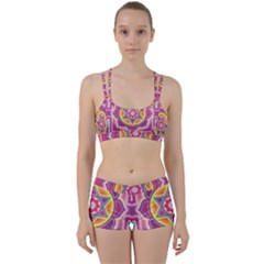Kali Yantra Inverted Rainbow Women s Sports Set by Mariart