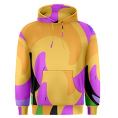 Spiral Digital Pop Rainbow Men s Pullover Hoodie