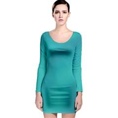 Background Image Background Colorful Long Sleeve Bodycon Dress by Nexatart