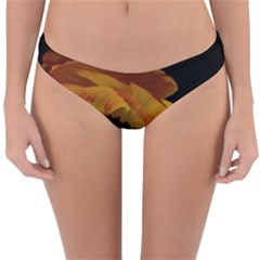 Ranunculus Yellow Orange Blossom Reversible Hipster Bikini Bottoms by Nexatart