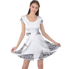 Recycling Generosity Consumption Cap Sleeve Dress