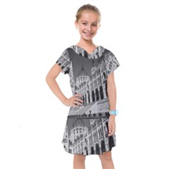 Architecture Parliament Landmark Kids  Drop Waist Dress by Nexatart