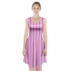 Line Pink Vertical Racerback Midi Dress by Mariart