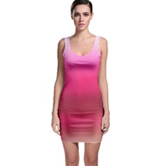 Line Pink Space Sexy Rainbow Bodycon Dress by Mariart