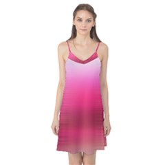 Line Pink Space Sexy Rainbow Camis Nightgown by Mariart