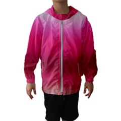 Line Pink Space Sexy Rainbow Hooded Wind Breaker (kids) by Mariart