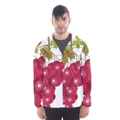 Red Fruit Grape Hooded Wind Breaker (men)