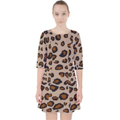 Leopard Print Pocket Dress by TRENDYcouture