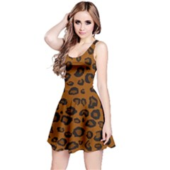 Dark Leopard Reversible Sleeveless Dress by TRENDYcouture
