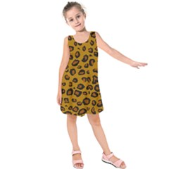 Classic Leopard Kids  Sleeveless Dress by TRENDYcouture