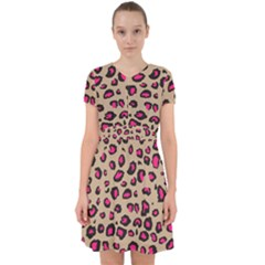 Pink Leopard 2 Adorable In Chiffon Dress by TRENDYcouture