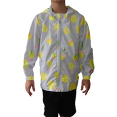 Cute Fruit Cerry Yellow Green Pink Hooded Wind Breaker (kids) by Mariart