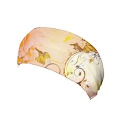 Wonderful Floral Design In Soft Colors Yoga Headband by FantasyWorld7