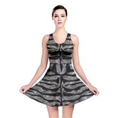 Skin2 Black Marble & Gray Stone (r) Reversible Skater Dress by trendistuff