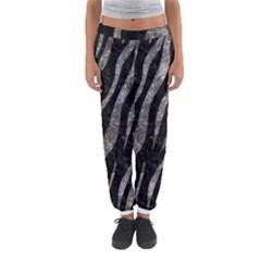 Skin3 Black Marble & Gray Stone Women s Jogger Sweatpants by trendistuff