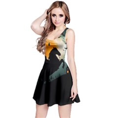 Headless Horseman Reversible Sleeveless Dress by Valentinaart